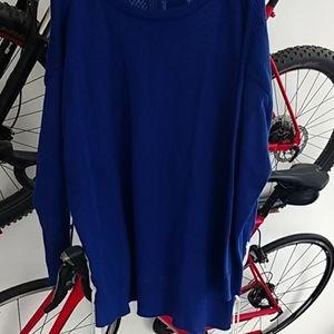 NWT Ralph Lauren Blue sweater 2x